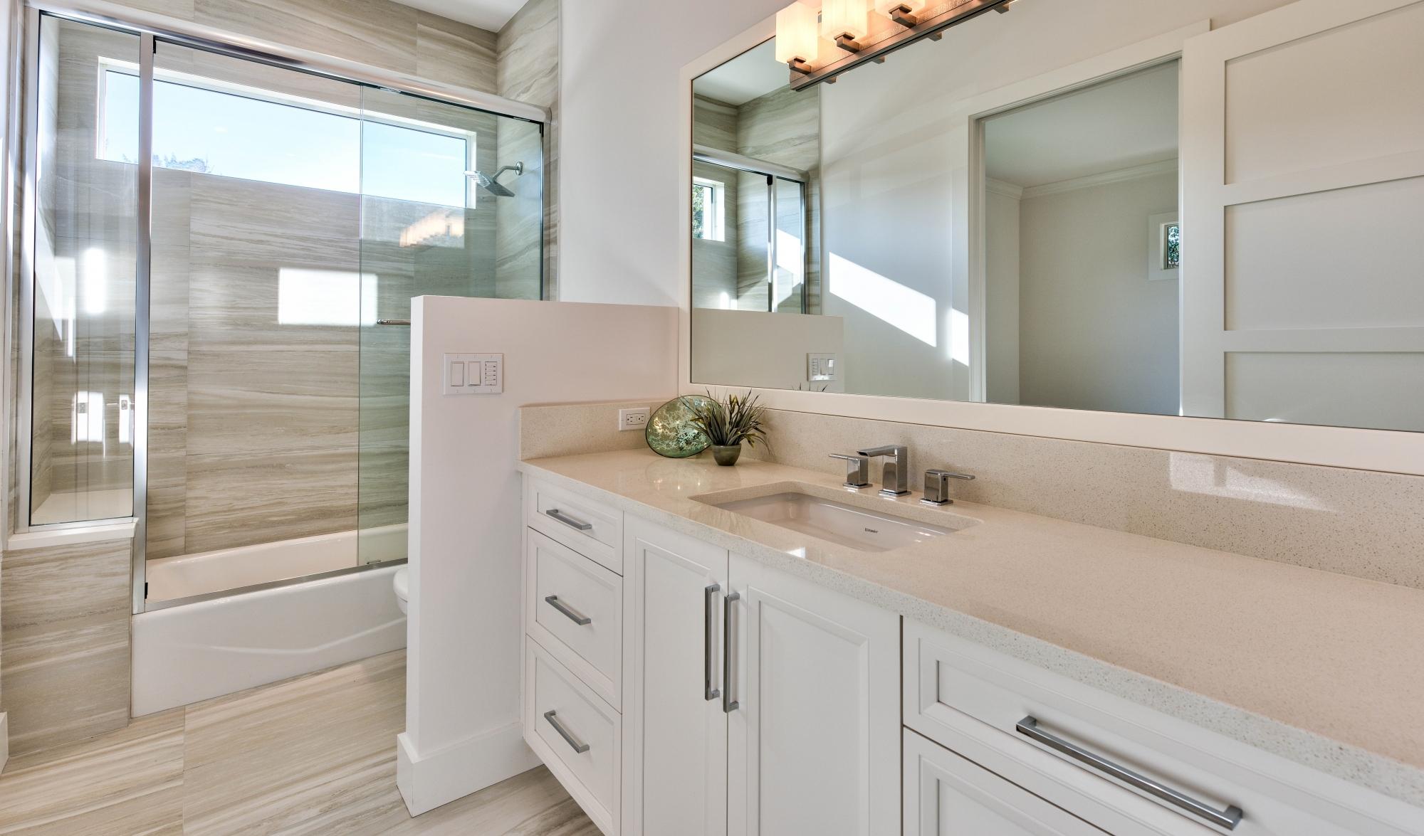 Premier showcase bathroom vanities countertops cabinets for Bathroom cabinets naples fl