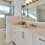 white bathroom renovation bathroom vanities