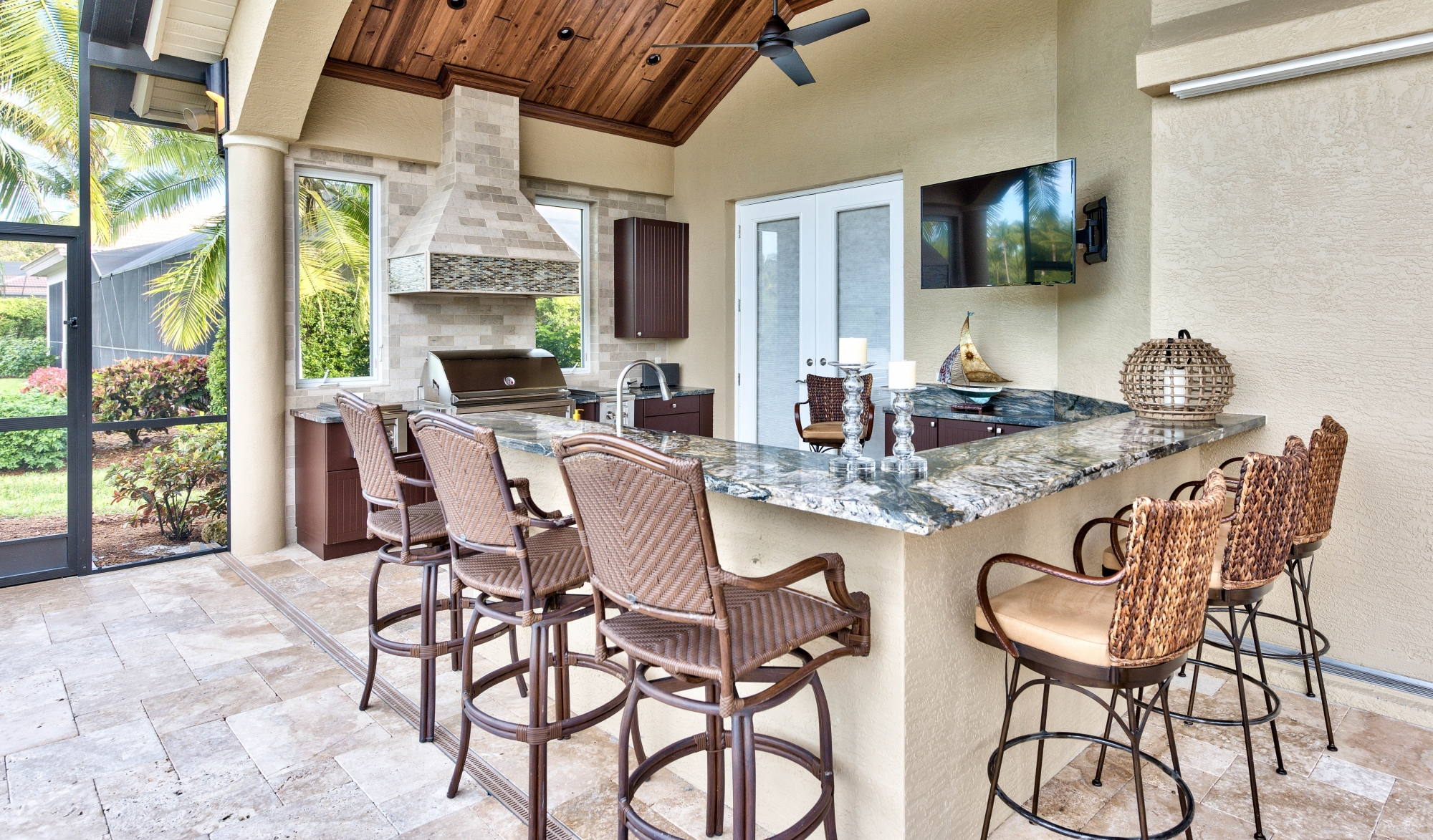 Outdoor living spaces design and build fort myers naples - Outdoor living space design ...